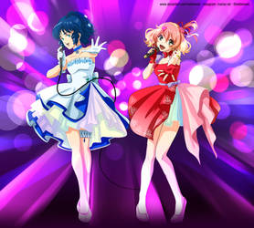 Commission - Freyja Wion and Lynn Minmay