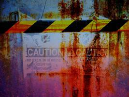 Caution Texture by oscarrocks00