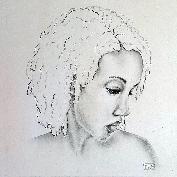Self-portrait by pumkin54