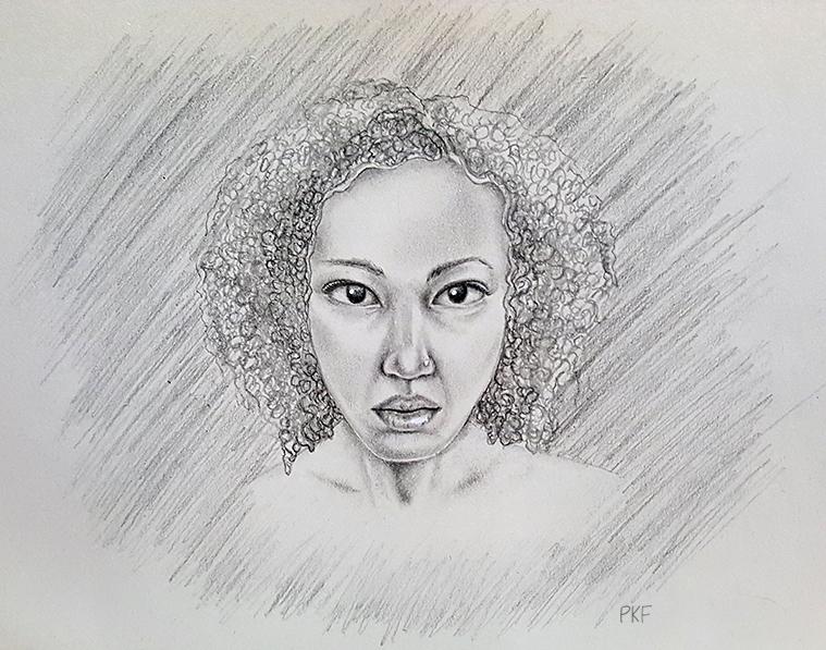 Self-portrait 3 by pumkin54
