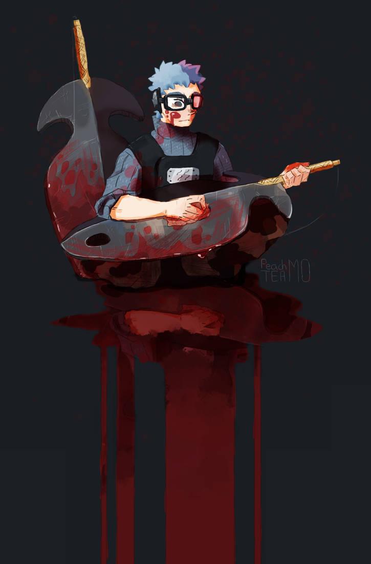 Swordsman of the Bloody Mist by PeachTeaMo on DeviantArt