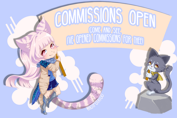 Commissions! by HotPotatoo