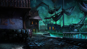 Haunted Docks by Nezariel