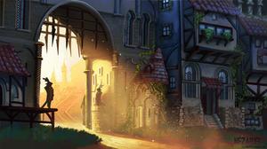 Gate Duty by Nezariel
