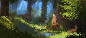 Deer den