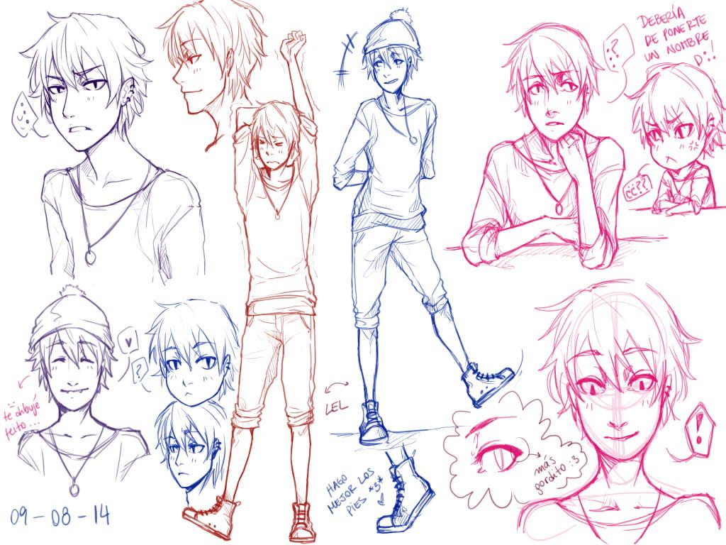 sketches~ by Kuroi-Mitsu