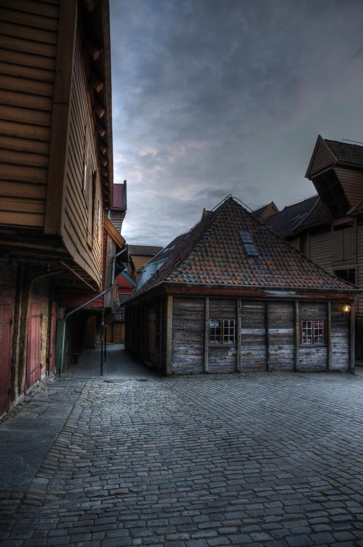 Bryggen by Azagh
