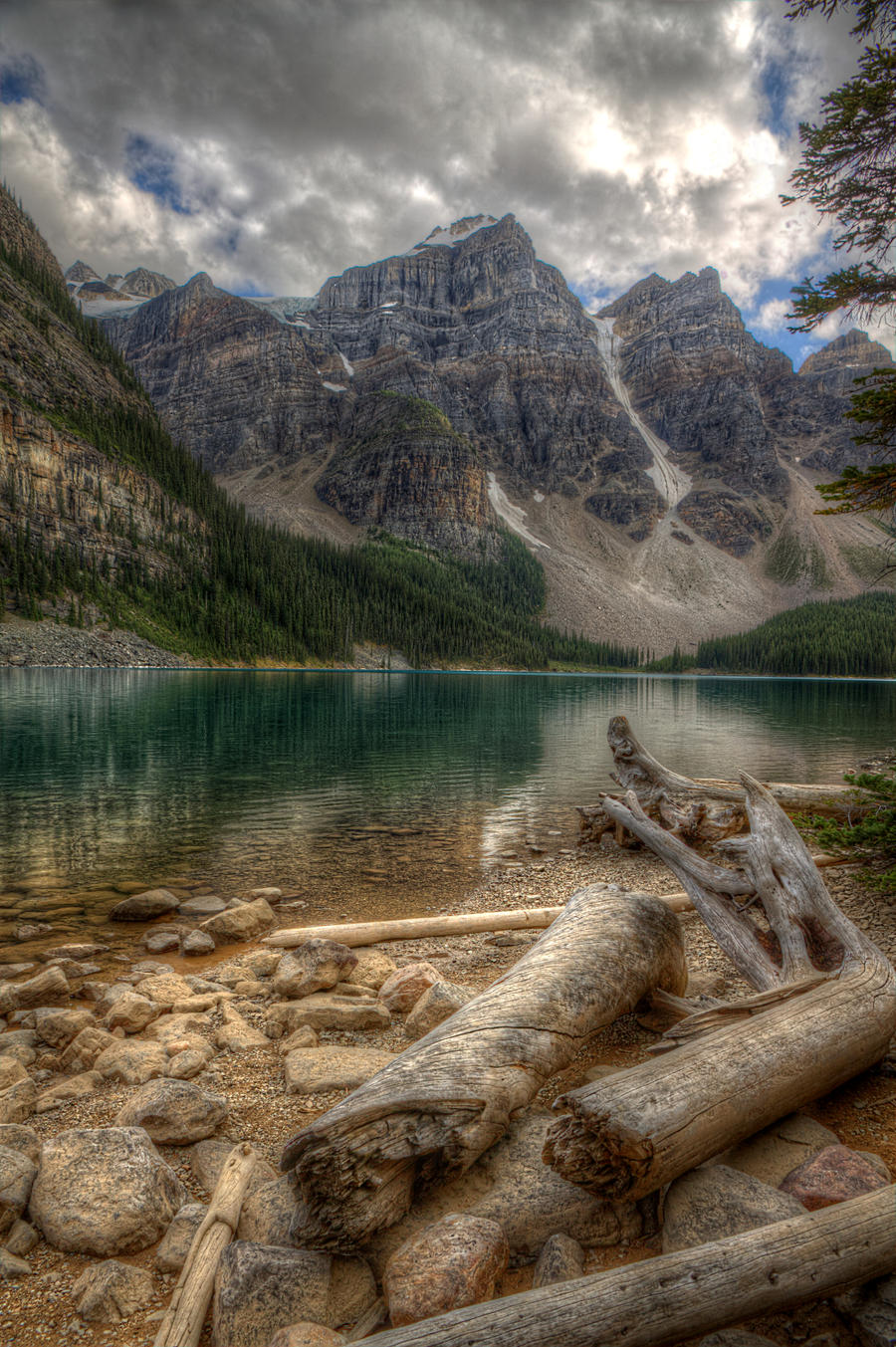 Moraine Lake I by Azagh