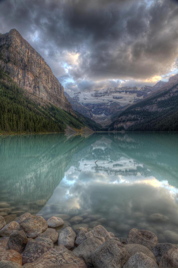 Lake Louise I by Azagh