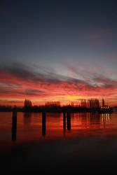 Sunrise Over Seine