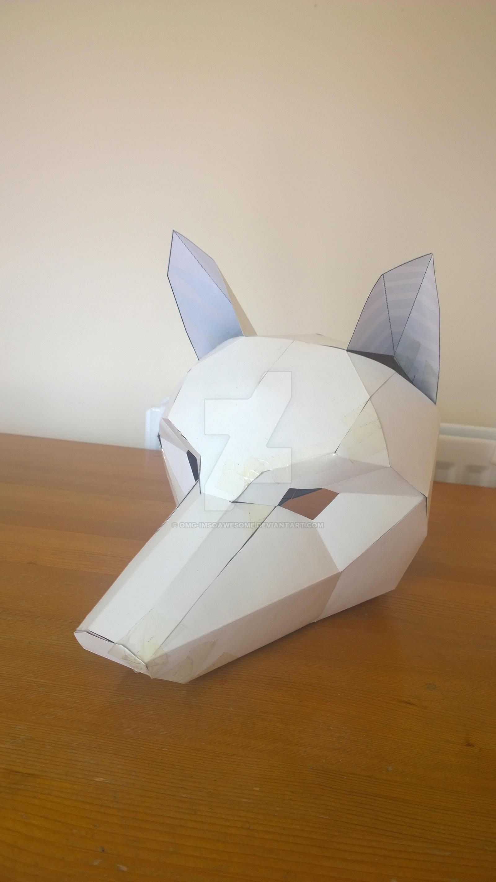 Wintercroft Fox Mask Book + Free Digital Mask  Wintercroft Fox Mask