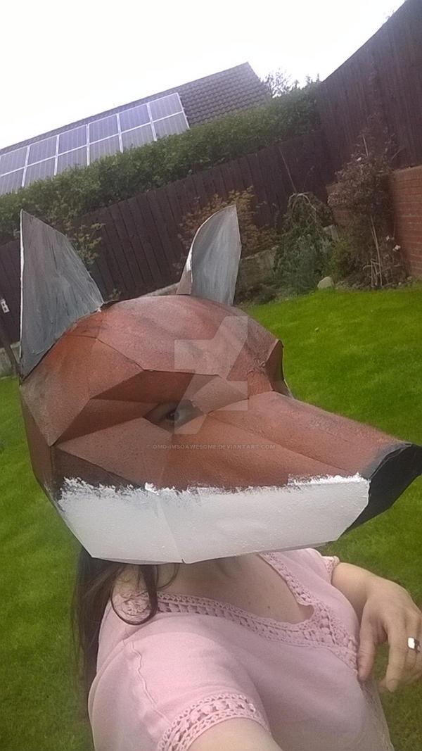 Fox Trophy Mask - Wintercroft  Wintercroft Fox Mask