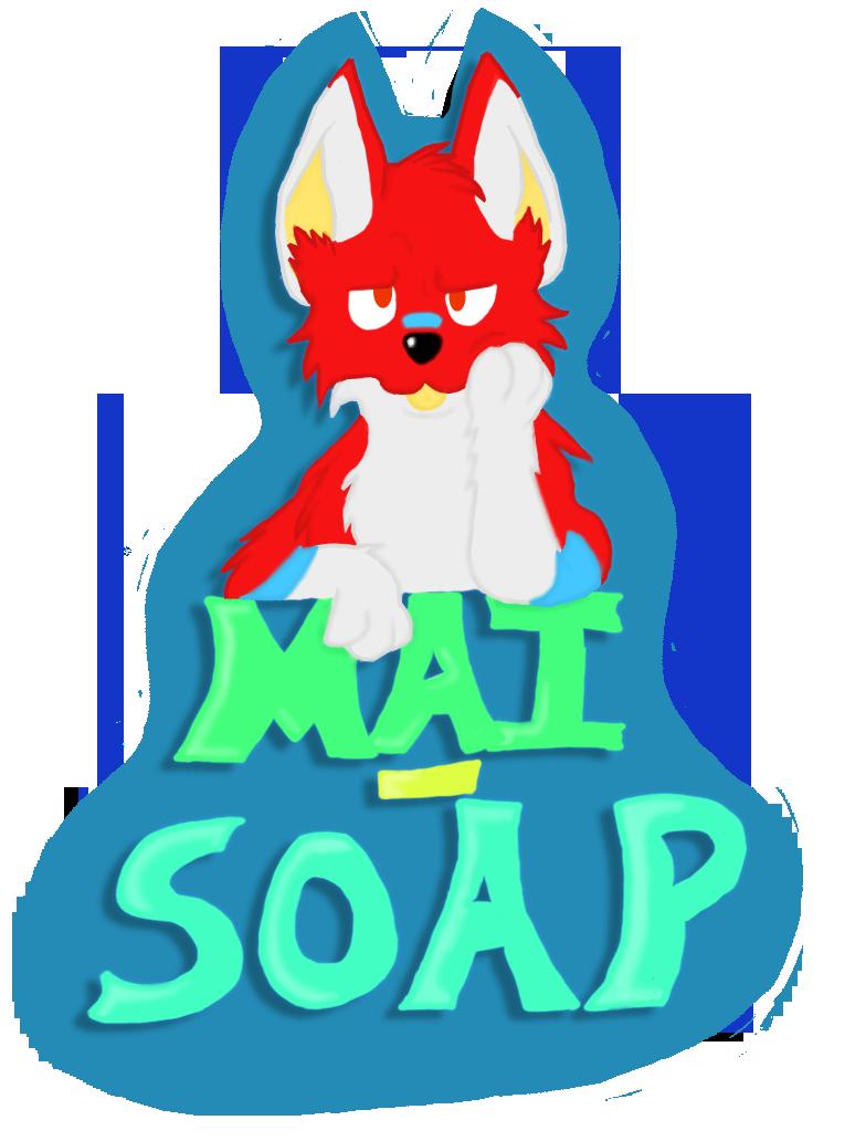 Mai Soap Fur Suit badge