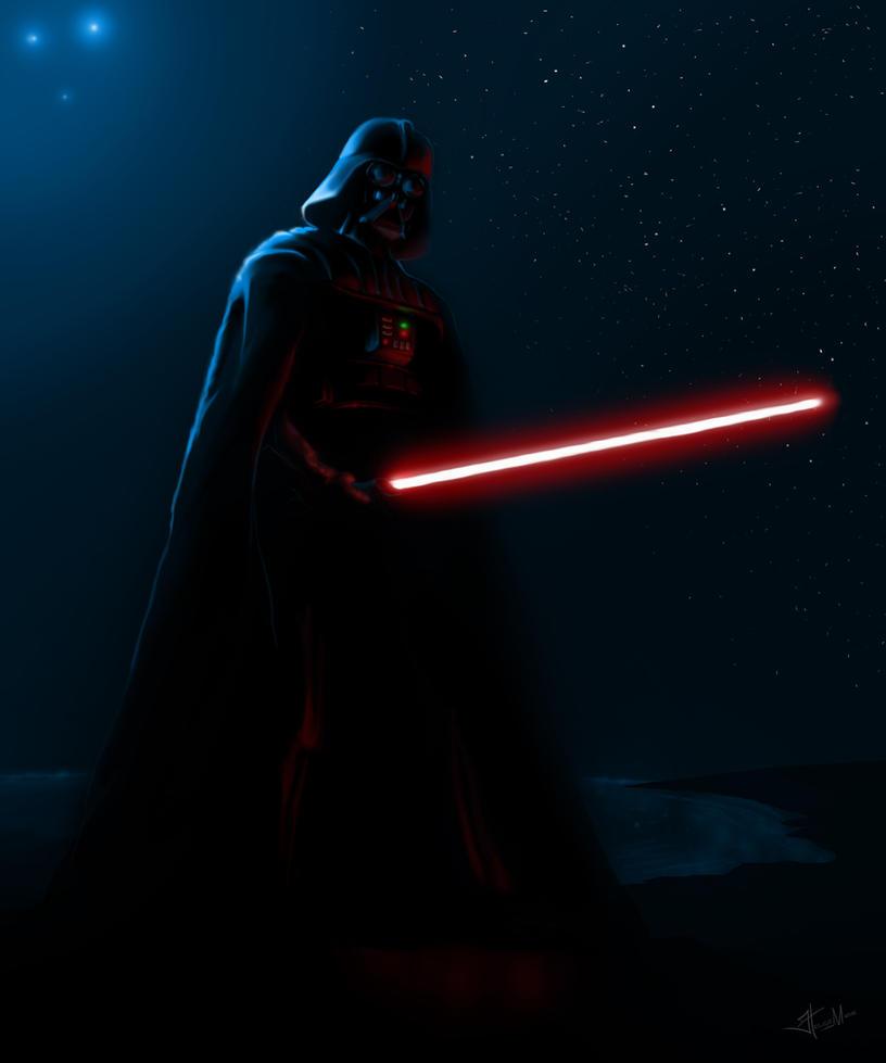 Darth Vader By Helgephoenix
