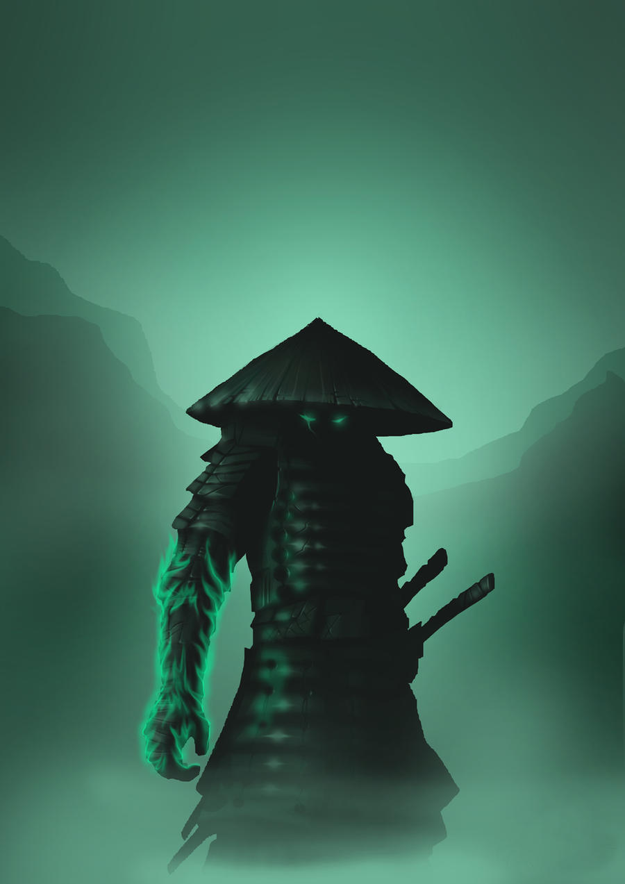 Ghost Samurai by helgephoenix