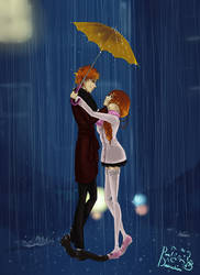 In The Rain With You *Coloured*