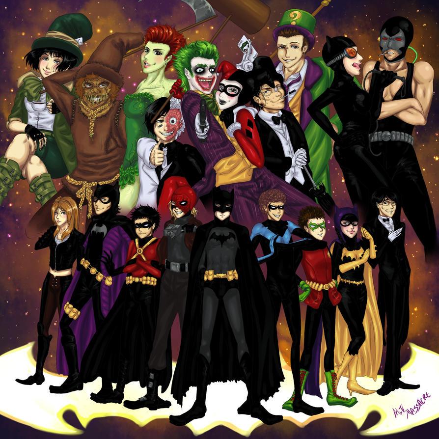 Batman Royale by Mute-Massacre