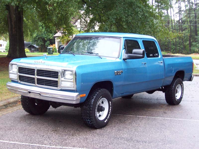Old 4 Door Dodge Truck