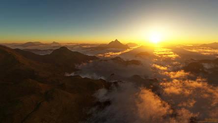 The Cloud Sea by nethskie