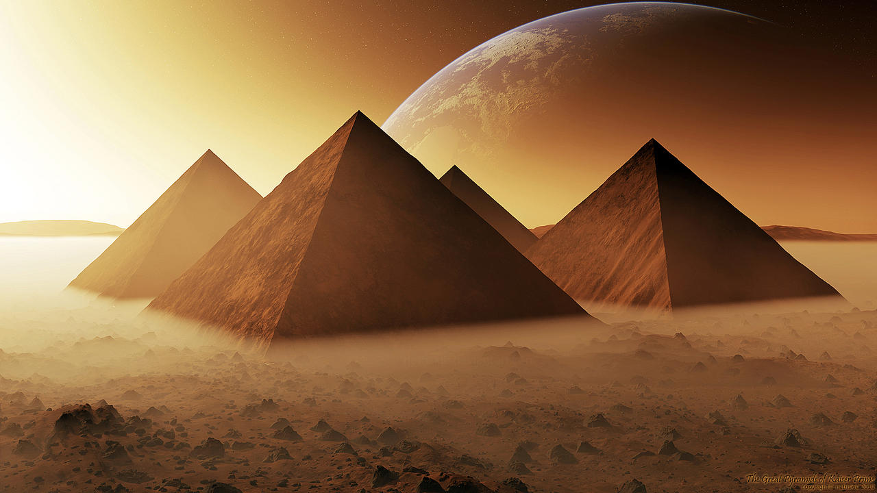 The Great Pyramids of Kaiser 1 by nethskie
