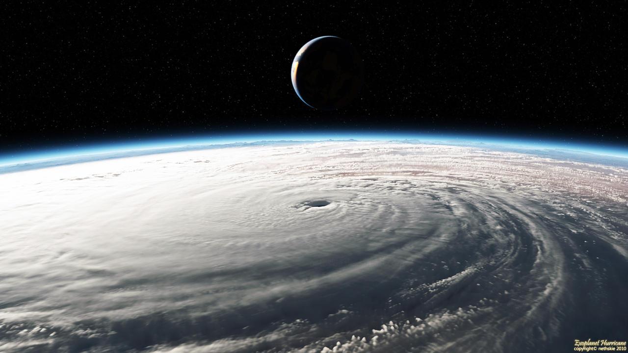 Exoplanet Hurricane by nethskie