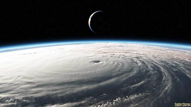 Exoplanet Hurricane