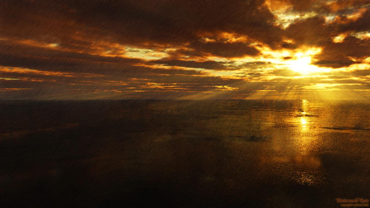 Waterworld Rain by nethskie