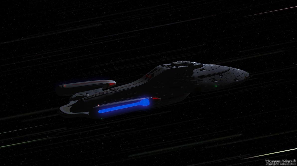 Voyager: Warp 9 by nethskie