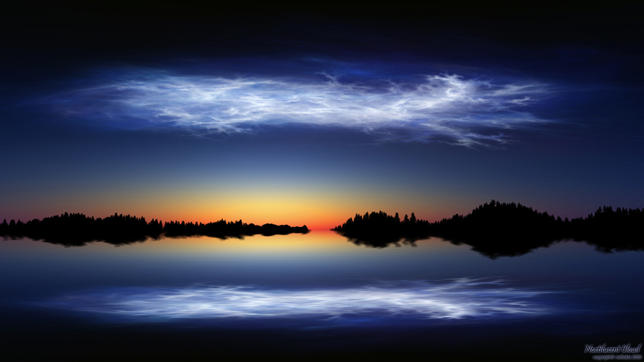 Noctilucent Cloud by nethskie