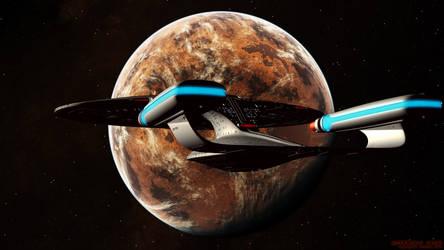 Enterprise-D Vulcan