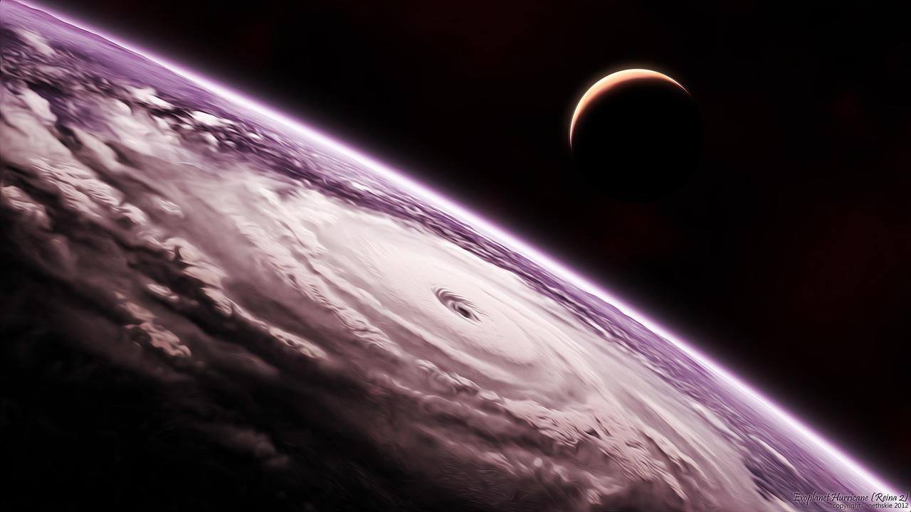 Exoplanet Hurricane - Reina 2 by nethskie on DeviantArt