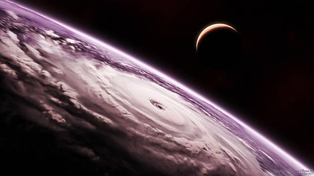 Exoplanet Hurricane - Reina 2