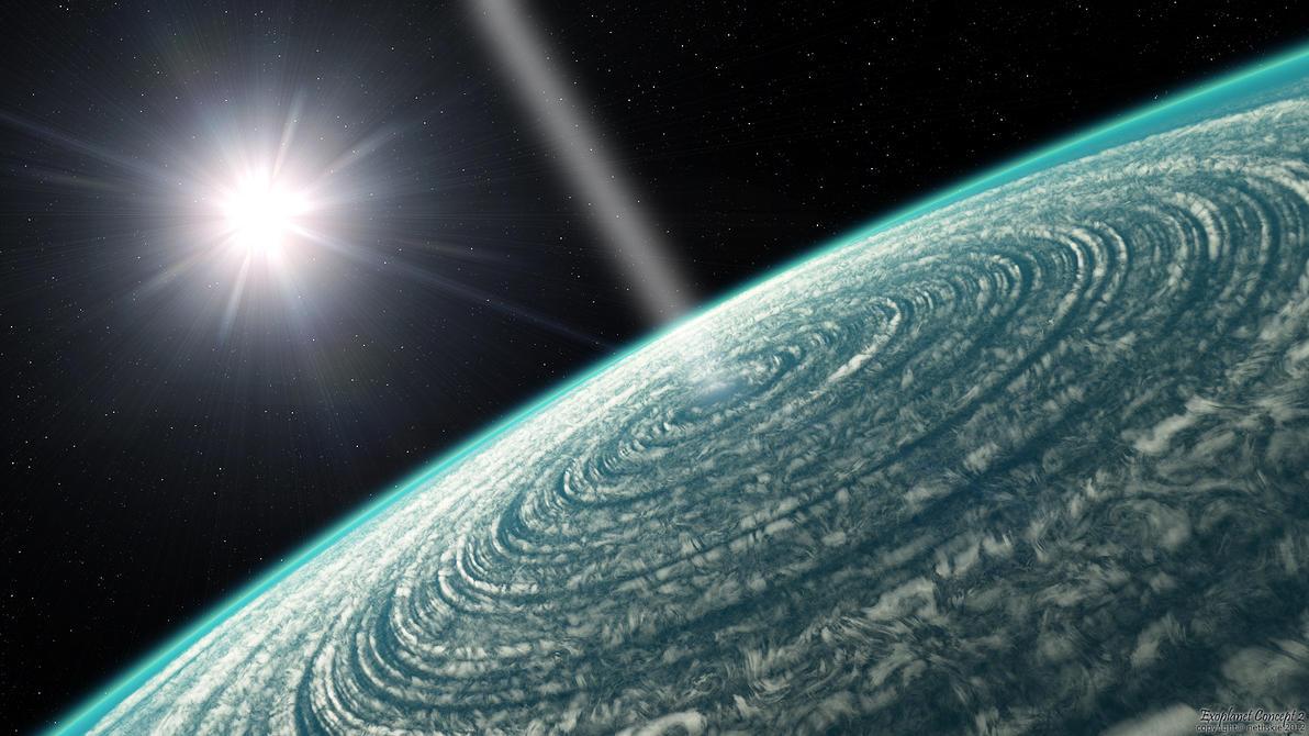 Exoplanet Concept 2 by nethskie on DeviantArt