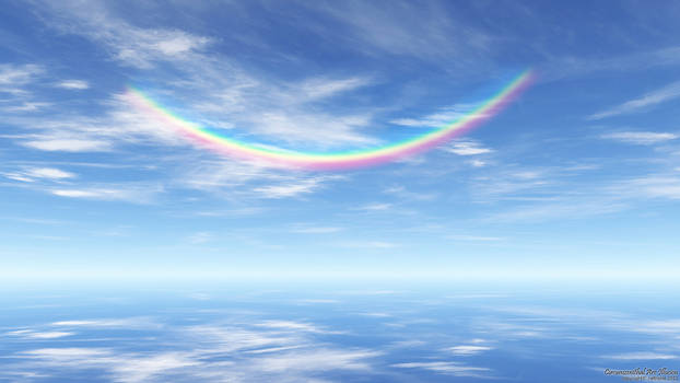 Circumzenithal Arc Illusion