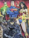 Justice League  by Marcio.Abreu