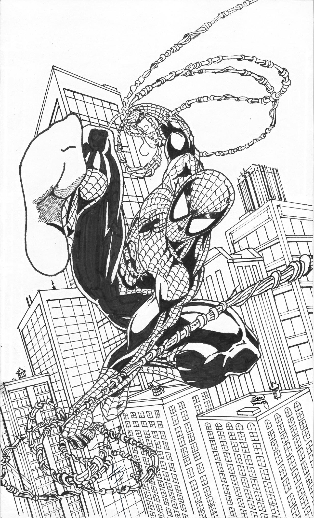 SPIDERMAN Swinging in the big city