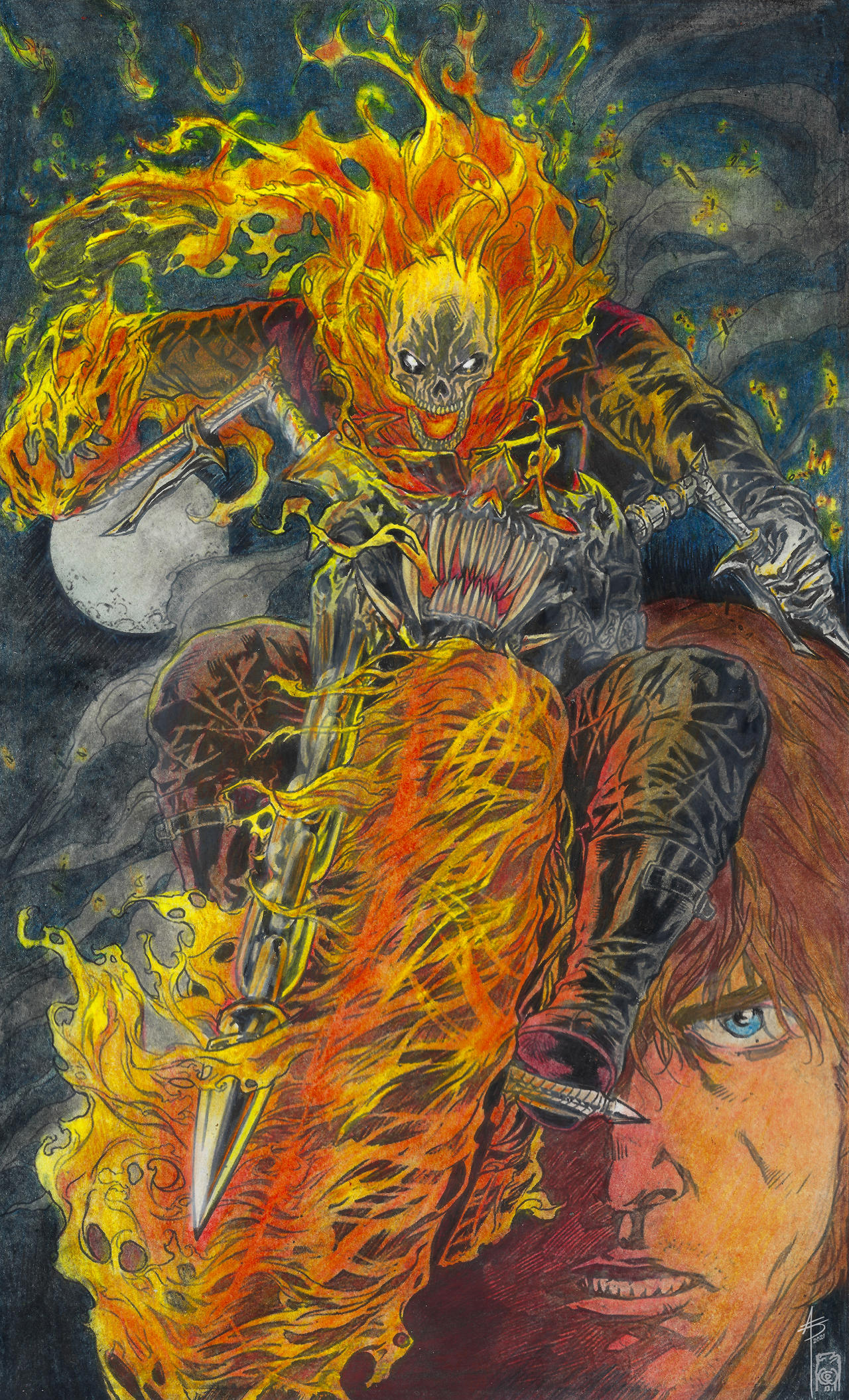GHOSTRIDER colors