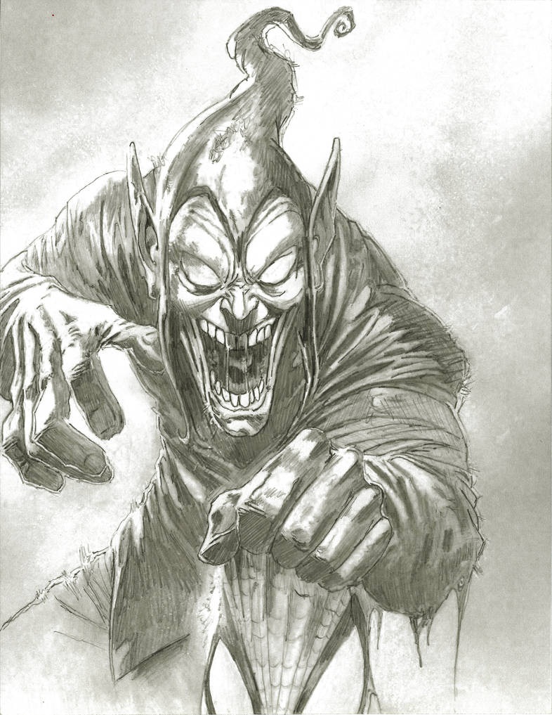 GREEN GOBLIN Pencils
