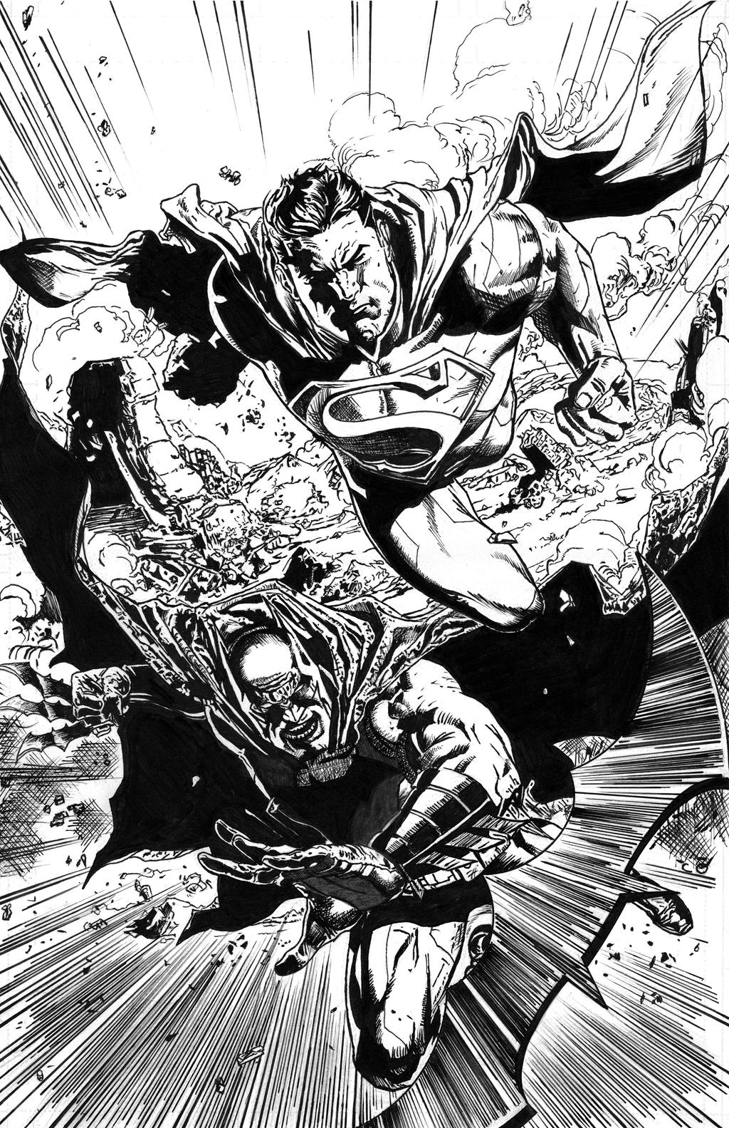 BATMAN - SUPERMAN Issue27 Page22 Inked