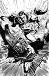 BATMAN - SUPERMAN Issue27 Page22 Inked by WascawwyWabbit