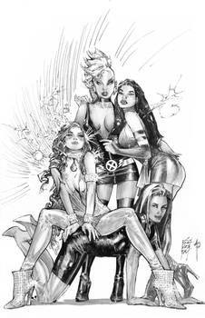 POWER HERO GIRLS of X-MEN