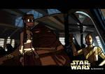 Leia and Jabba the jedi