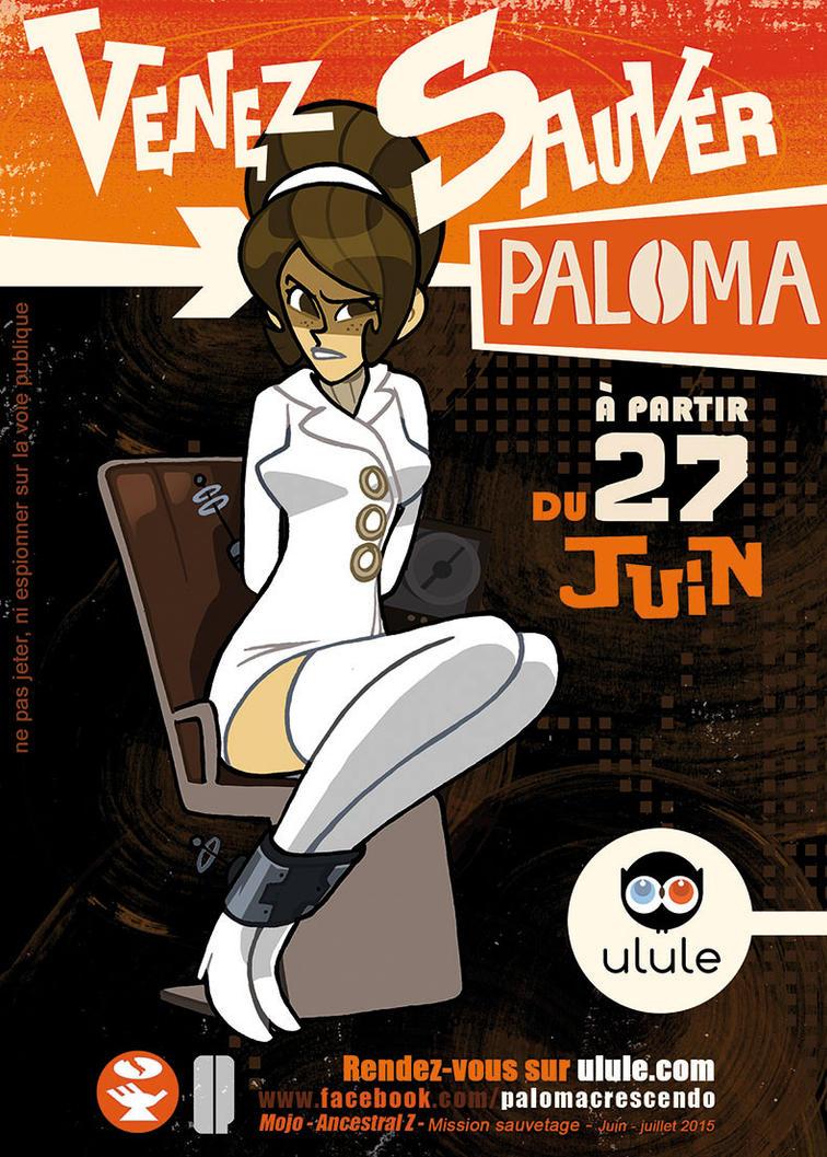 Paloma Capture by Ancestral-Z