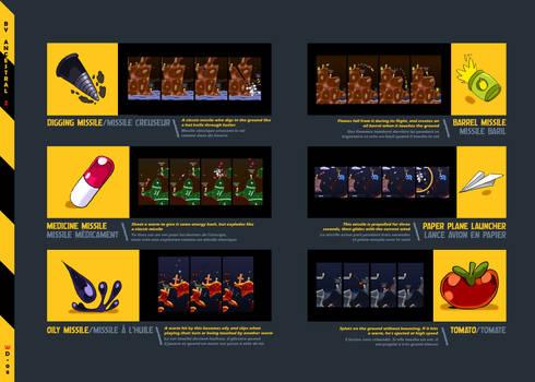 Worms Demolition / Concept Art / ARMES - B