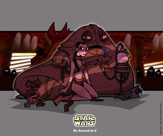 Princess leia by Ancestral-Z