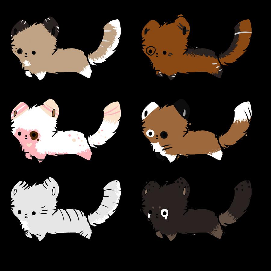 Chibi Red Panda Cheap chibi red panda batch 02Red Panda Drawing Furry