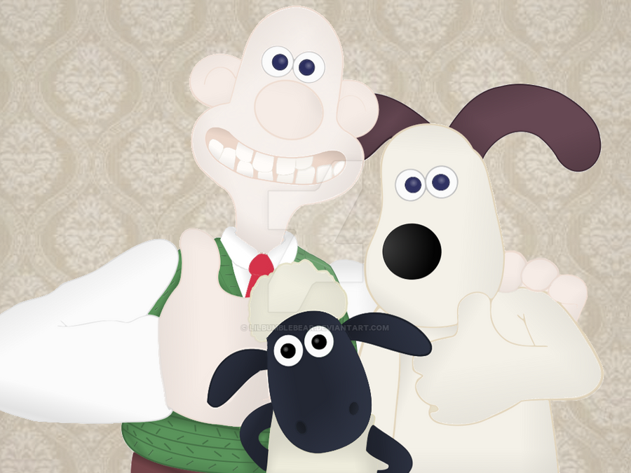 Wallace And Gromit Shaun The Sheep By LilBumbleBear