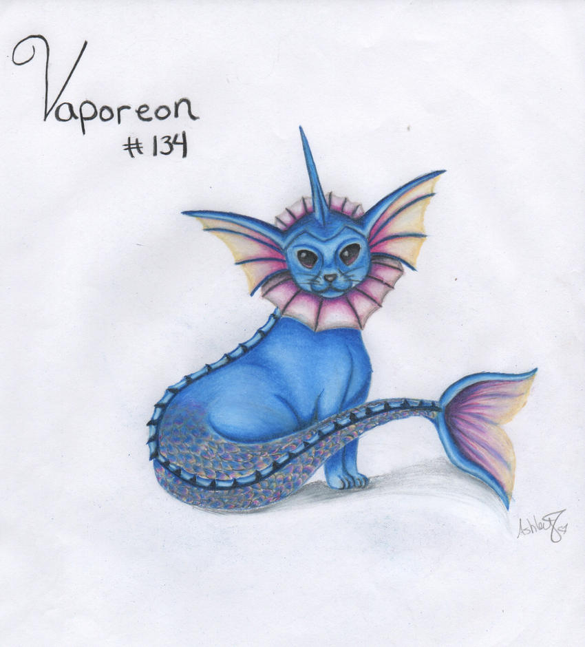 Vaporeon by GottAshley