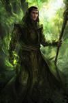 druid-green - commission