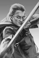 29/365 - Legolas by h1fey